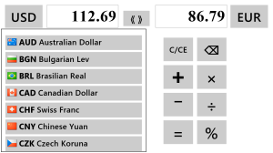 Currency Selection